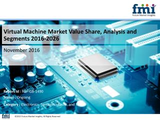Virtual Machine Market Value Share, Analysis and Segments 2016-2026