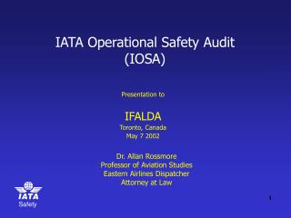 IATA Operational Safety Audit (IOSA)
