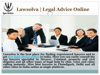 Hire Criminal lawyers in chandigarh