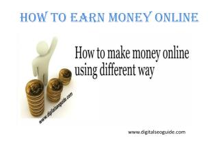 LIST OF 39 WAYS YOU CAN QUICKLY MAKE MONEY ONLINE