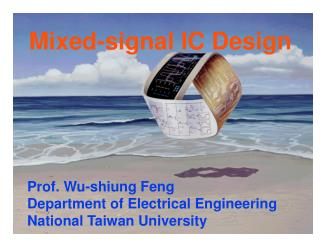 Mixed-signal IC Design
