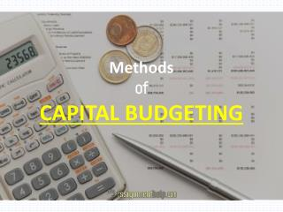 Capital Budget Assignment for Students