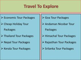 Take our Best Andaman Nicobar Tour Packages