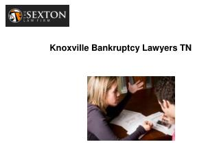 Knoxville Bankruptcy Lawyers TN
