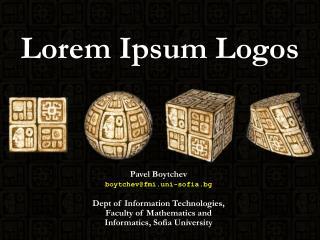 Lorem Ipsum Logos