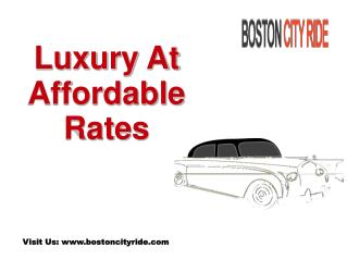 Limo Car Service in Boston