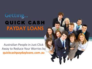 Quick Cash Payday Loans – Quick Cash Assistance for Less-Than Credit Holder