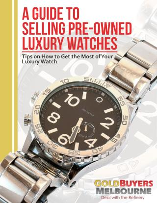 Selling Your Luxury Watch for The Best Price