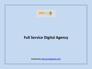 Full Service Digital Agency