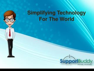 For Flawless Technical Support on Antivirus, Contact SupportBuddy Techies