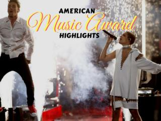 American Music Award highlights