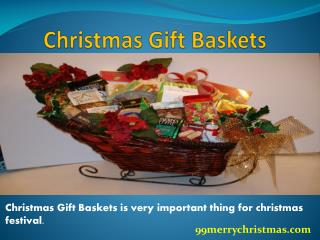 Christmas Gift Basket For Friends - 99merrychristmas.com