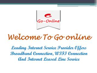 Internet Leased Line Service in Chirkunda