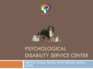 The advantages of esa letter as service animal travel with service animal letter