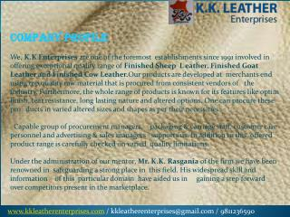 goat leather manufacturers in delhi