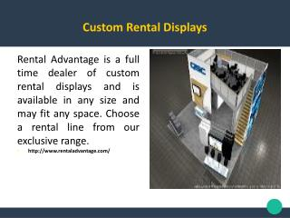 Custom Rental Displays