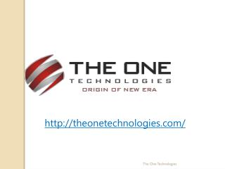 Offshore Software Development Company | The One Technologies