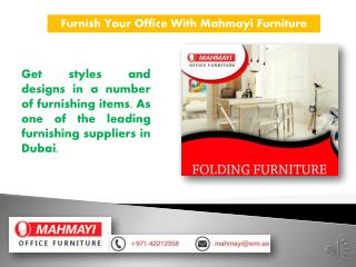 Best Modern Office Furniture Supplier in Dubai