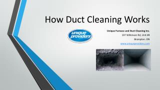 Residential Duct Cleaning Process
