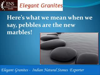 Indian Pebbles Stones and Tiles