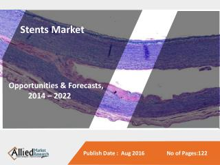 Stents Market to Reach $16,666 Million, Globally, by 2022