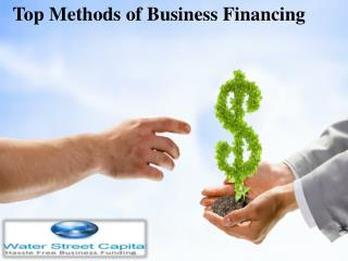 New and Latest Methods of Business Financing