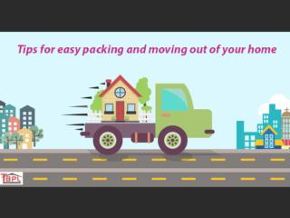 8 Top Tips for Easy Packing and Moving out of Your Home