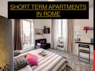 Rome Apartments For Rent Monthly