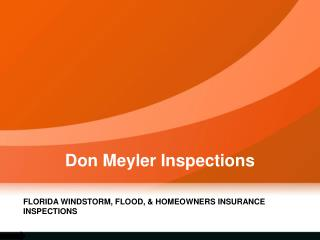 Roof Inspection Company