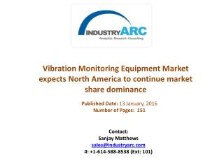 Vibration Monitoring Equipment Market buoyed by vibration measurement instrument innovations