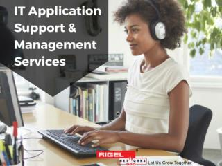 IT Application Support & Management Services