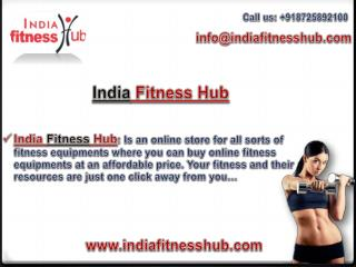 Buy Online Fitness Equipments at India Fitness Hub