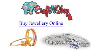 Buy jewellery online