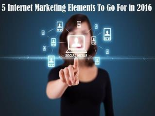 Internet Marketing Trends to follow in 2016