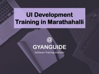 UI Development Training in Marathahalli