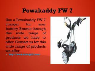 Powakaddy FW 7