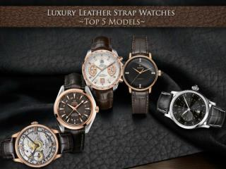 Luxury Swiss Watches In Golden Globe Awards 2016
