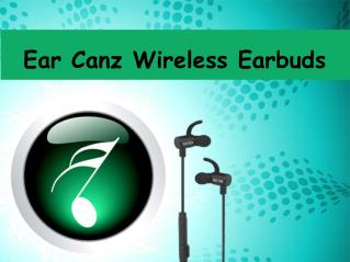 Ear Canz Wireless Earbuds