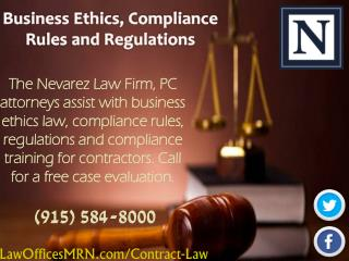 Business Ethics, Compliance Rules and Regulations