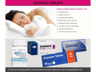 Buy Sleeping Tablets for Quick Solution Insomnia