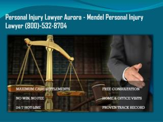 Personal Injury Lawyer Burlington