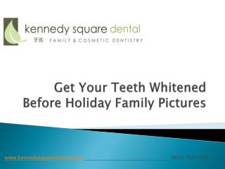 Get Your Teeth Whitened Before Holiday Family Pictures