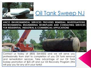 Oil Tank Sweep NJ