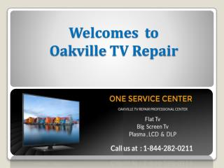 Get LG LED TV Repair Service in Oakville