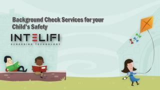 Background Check Services for your Child's Safety