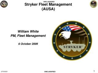 Stryker Fleet Management (AUSA)