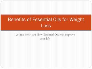 website for essential oils for weight loss