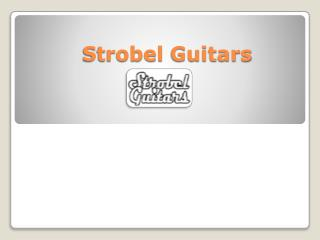 Travel Guitars Online - Strobel Guitars