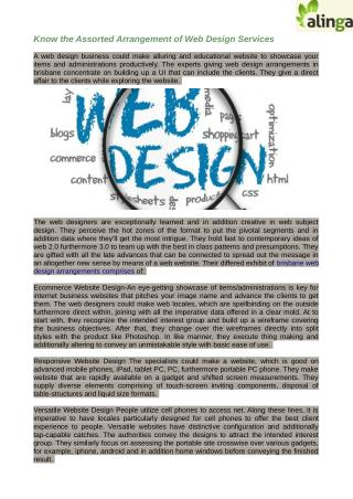 Brisbane web design make CMS based web districts to give perfect profitability