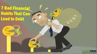 Bad Financial Habits That can Lead to Debt
